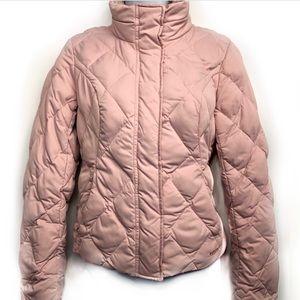 Eddie Bauer Goose Down Pink Puffer Jacket XSP